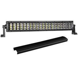 20 Inch LED Light Bar, DJI 4X4 320W Quad Row LED Driving Lig