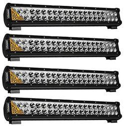 20 Inch Led Light Bar Eyourlife 4PC 126W Led Fog Driving Lig