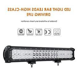 Auxbeam 20 126W LED Light Bar 8820lm12600lm CREE Combo Beams