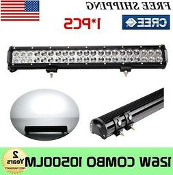 "20""INCH 126W Led Work Light Bar Combo Driving Offroad 4WD Fo"