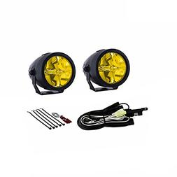 "PIAA 22-73272 LP270 Yellow 2.75"" LED Ion Driving Light Kit"