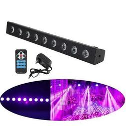 260W Black Light Bar UV LED Stage Blacklight Party DJ Club H