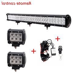 "Lumitek 28"" 180W Led Light Bar Flood Spot Combo Light Bar fo"