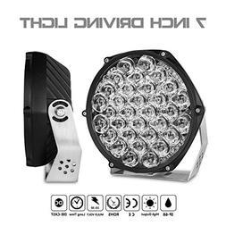 "Rigidhorse 2pcs 7"" LED Offroad Pod Lights Bar 112W with Moun"