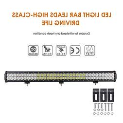 Auxbeam 30 198W Cree led light bar 66pcs 3W CREE chips combo