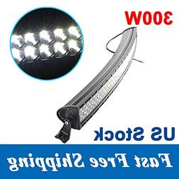 Penton 300w 51 Inch 10v-30v 30,000 Lumens Curved LED Light B
