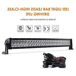 32 curved light bar 60pcs3w