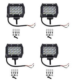 Cutequeen 4 X 36w 3600 Lumens Cree LED Flood Light for Off-r