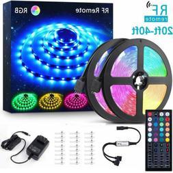 40/20ft Flexible led light strip RGB 5050 SMD Remote Fairy L