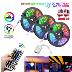 49FT 32FT Flexible 3528 RGB LED SMD Strip Light Fairy Lights