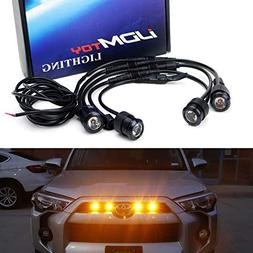 iJDMTOY 4pc Raptor Style 3W High Power LED Grille Lighting K