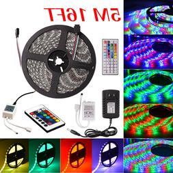 5M LED Strip Light 5050/2835 SMD Flexible Waterproof Car Tru