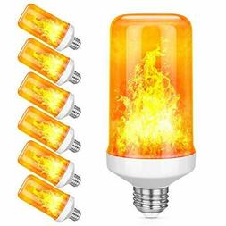 6 pack led flame effect simulated nature