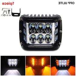 60W Led Work Light with Signal Light Flashing 4800LM White A