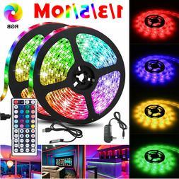 65.6FT Flexible Strip Light RGB LED SMD Fairy Lights Room Pa