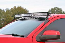 Rough Country - 70514-54-inch Curved LED Light Bar Upper Win