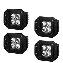 Flush Mount LED Light Bar YITAMOTOR 4Pcs 20W 4inch Led Light