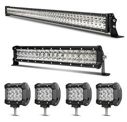 LED Light Bar Kit, Rigidhorse 82000LM 52 Inch 500W + 32 Inch