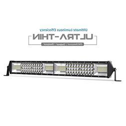 """LED Light Bar Quad Row 20""""inch 380W Light Bar Spot Flood Com"""