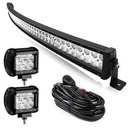 Led Light Bar Yitamotor 300W 52 Inch Curved Light Bar White