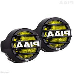"PIAA 22-05370 LP530 Yellow 3.5"" LED Ion Fog Light Kit"
