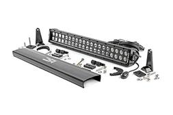 Rough Country - 70920BL - 20-inch Black Series Dual Row CREE