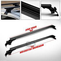 "Velocity Concepts 50"" Black Aluminum Teardrop Window Frame R"