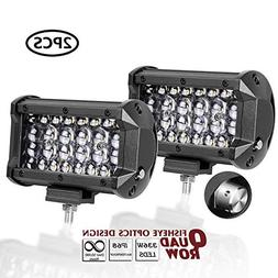 AutoPowerPlus LED Pods, 5'' 168W Cree Led Quad Row Light Bar