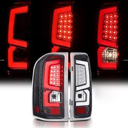 Chevy Silverado 1500 2500 3500 Crew Cab Black LED Bar Tail R