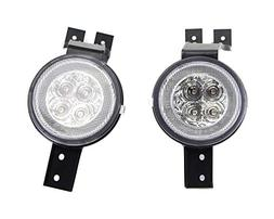 iJDMTOY Clear Lens White LED DRL Parking Light/Turn Signal A