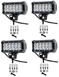 Cutequeen 4 X 36w 3600 Lumens Cree LED Spot Light for Off-ro