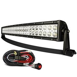 "MICTUNING Curved 32"" 180W- 3B239C -LED Light Bar Combo Radiu"