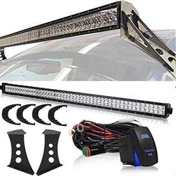 DOT 50 Inch Offroad LED Light Bar Fit Ford F250 F350 Super D