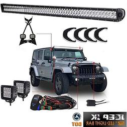 "TURBOSII DOT For 2007-2017 Jeep Wrangler JK Offroad 52""Inch"