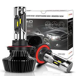 H13/9008 LED Headlight Bulbs 8000 Lumens 360 degrees Full Ra