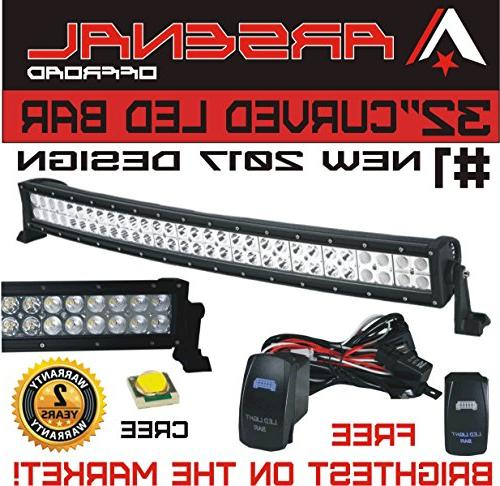 1 32 curved arsenal offroad led light
