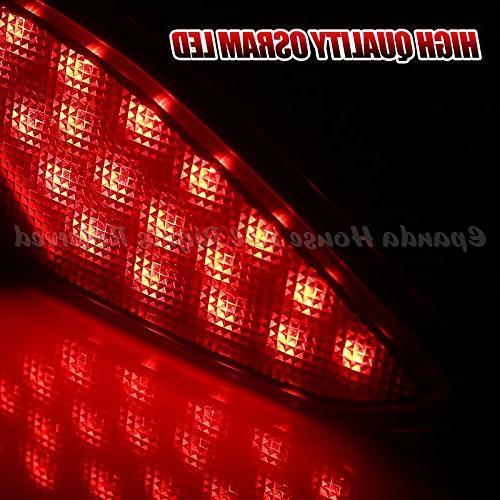HR-V Red High Power Brake Lamps Fiber Optic