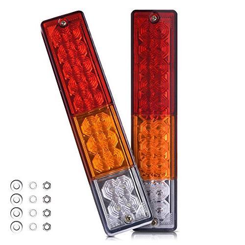 20 trailer tail lights bar