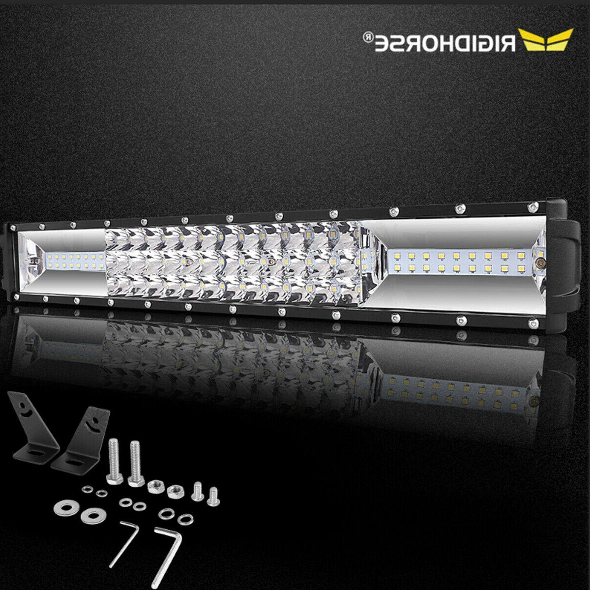 20inch led light bar spot flood combo