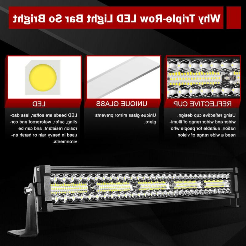 "22"" LED BAR FLOOD TRUCK ATV"