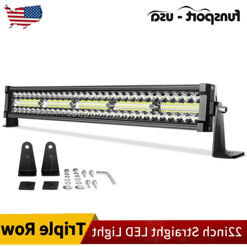 22 inch 450w led light bar spot