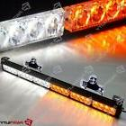 25 inch 24 LED White Amber Light Emergency Warn Strobe Flash