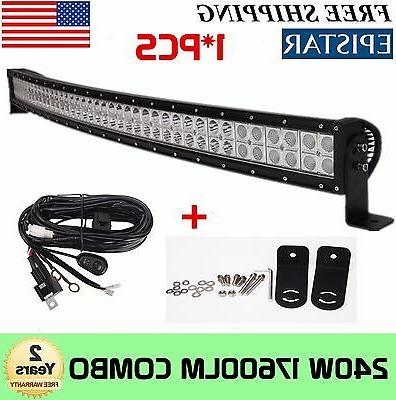240w 42 inch curved led light bar