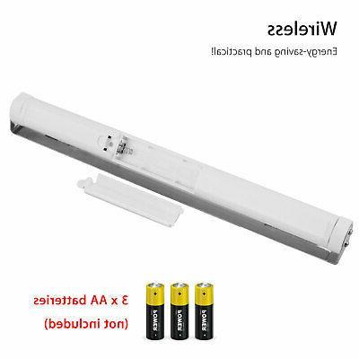 2pc Cabinet Shelf Counter LED Bar Lighting Kit Lamp
