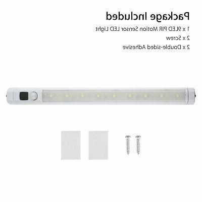 2pc Kitchen Shelf Counter Bar Lighting Kit Cupboard Lamp