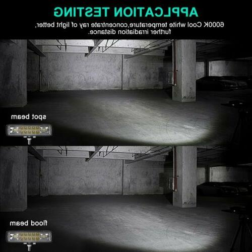 2x 36W WORK SPOT OFFROAD ATV FOG TRUCK LAMP 12V