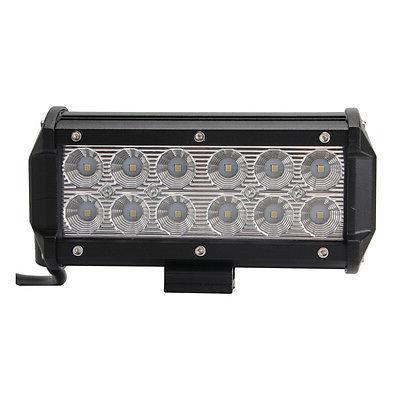 2X LED Light Bar Flood Lights Driving Offroad Truck SUV