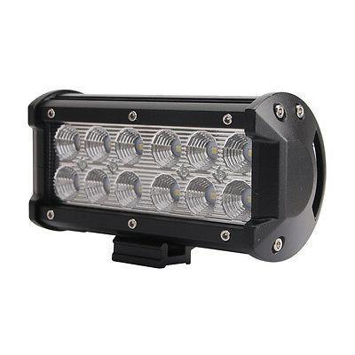 "2X 7""inch 36W LED Work Flood Lights 4WD"