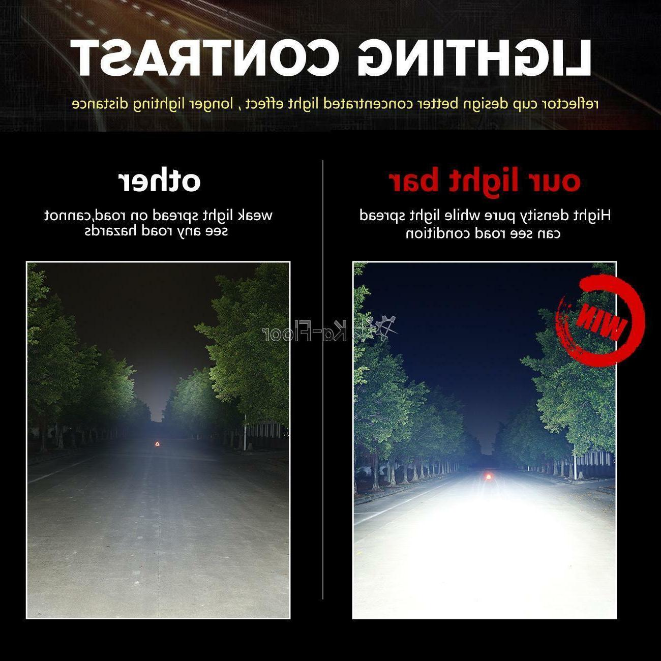2X Tri-Row Cree Led Work 4WD