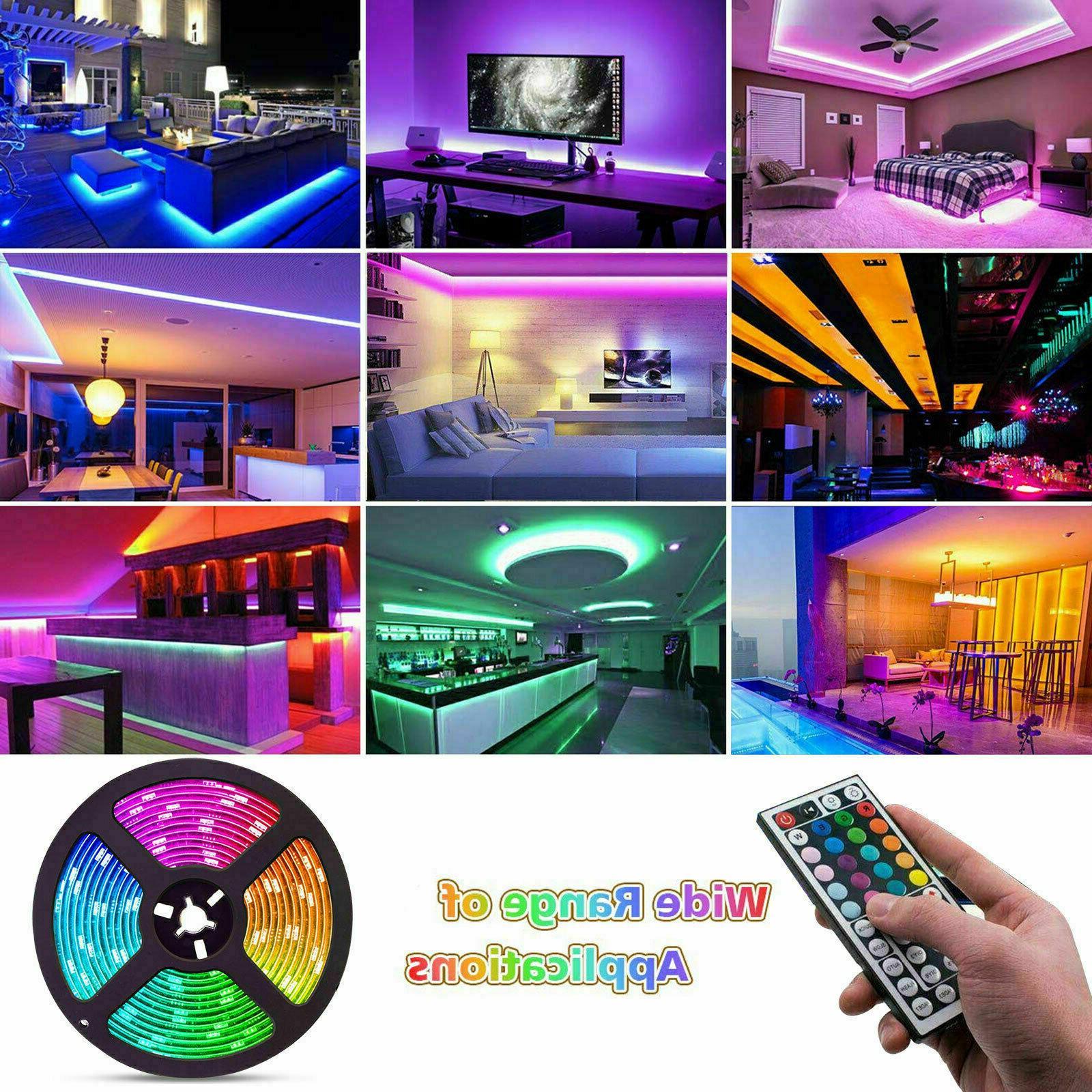 Flexible Strip LED Remote Fairy Lights Bar~